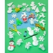 Polystyrene Christmas Crafts and Kits