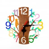 Mothers Day Wooden Clock Crafts