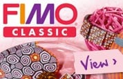 Fimo Classic - View