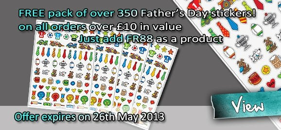 Fathers Day Stickers