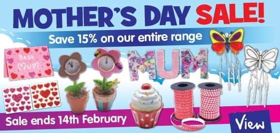 15% mothers day