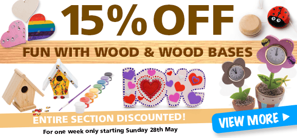 15% Off Fun with Wood
