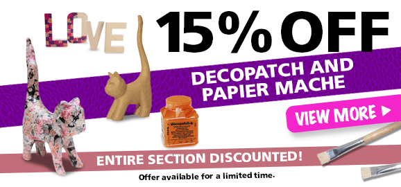 15% off decopatch