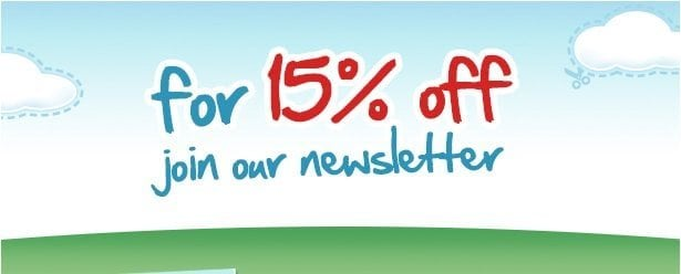 15% Off Newsletter