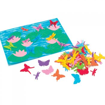Foam Dragon Flies Stickers