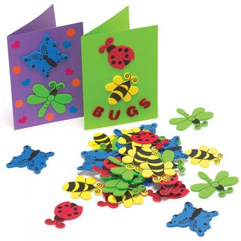Large Bug Foam Stickers