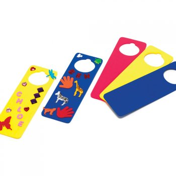 Eva Foam Door Hangers