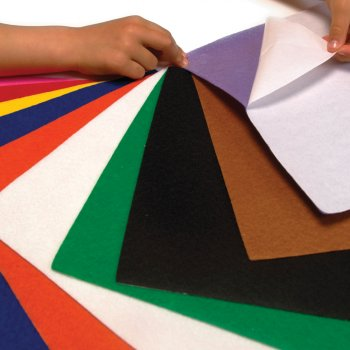 Self Adhesive Felt Sheet Pack - 18 Sheets
