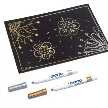 Metallic Decor Pens 2 Pack