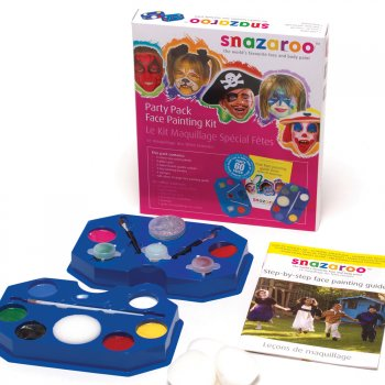 Snazaroo Ultimate Face Painting Kit - Up to 60 Faces