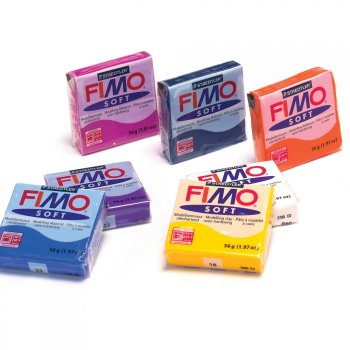 Brilliant Blue Fimo Soft Modelling Material