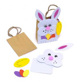 Easter gift bag kit display boxes and craft bags from crafty easter gift bag kit negle Images
