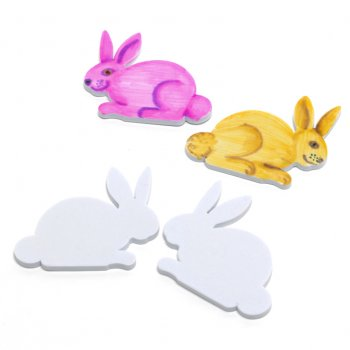 Small Foam Bunnies