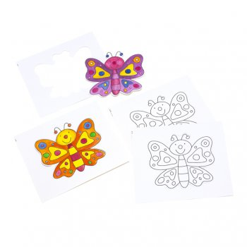 Large Butterfly Card Cut-outs - Pack of 10