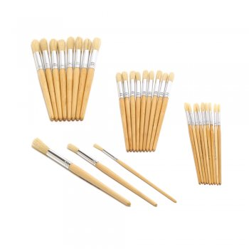 Size 18 Hog Brushes - Pack of 10