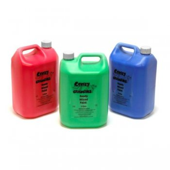 Orange Ready Mix Washable Paint - 5 Litres