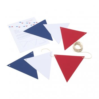 Create Your Own Bunting - Red White & Blue
