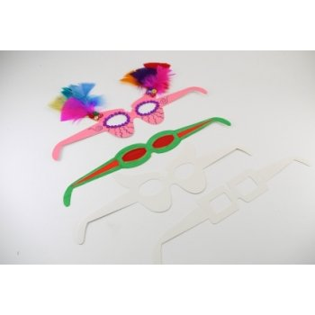 Fun Dress Up Glasses - Pack of 16