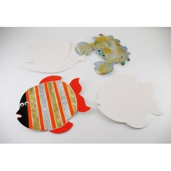 Sealife Card Cut Outs - Pack of 16
