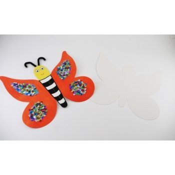 Card Butterfly Cut-outs (16 Pack)