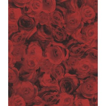 Decopatch Paper 574 - Half Sheet - Red Roses