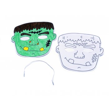 Halloween Masks - Colour in Monster - Pack of 5
