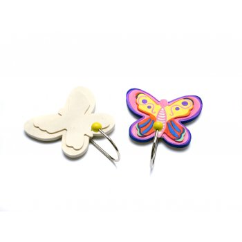 Butterfly Wooden Hook