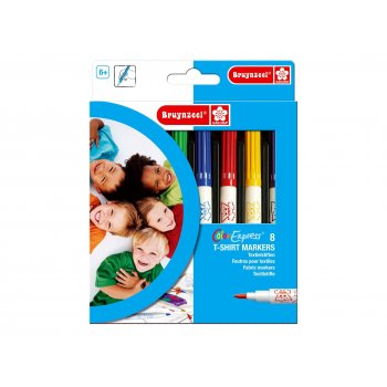 Fabric Marker Pens - 8 Pack
