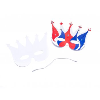 Design-a-crown Mask - Pack of 12
