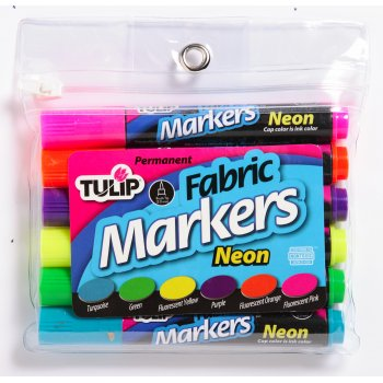 Fabric Marker Sets - Neon