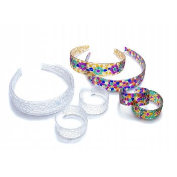 Crystal Mosaic Hairband