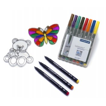 Staedtler Suncatcher Pen - Blue