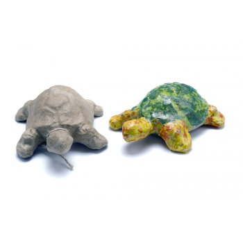 Paper Mache Extra Small Tortoise