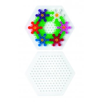 Small Hama Pegboard - Hexagonal
