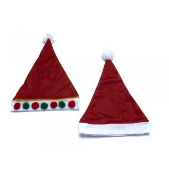 Father Christmas Felt Hat for Decoration