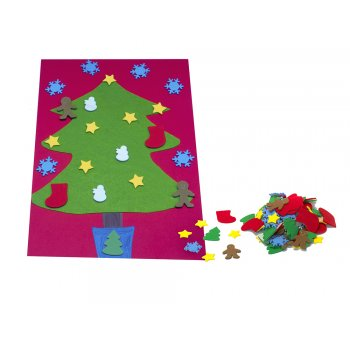 Foam christmas stickers 100 pack foam stickers for Foam sheet christmas crafts