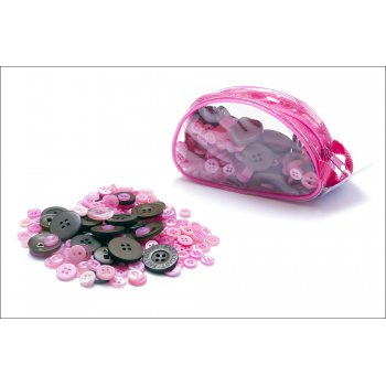 Fashion Buttons Neopolitan Colours