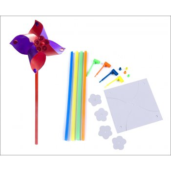 DIY Paper Windmills - 5 Pack