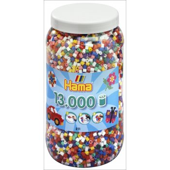 13,000 Bead Jar - Solid Colours