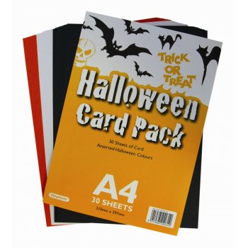 Halloween Card Pack - 30 x A4 Sheets