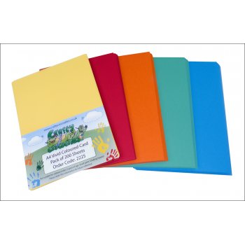 A4 Vivid Card 210gsm - Pack of 200 Sheets