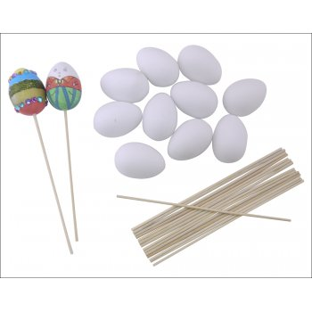 Plastic Eggs - 10 Pack