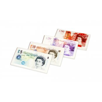 Eraser UK Bank Notes