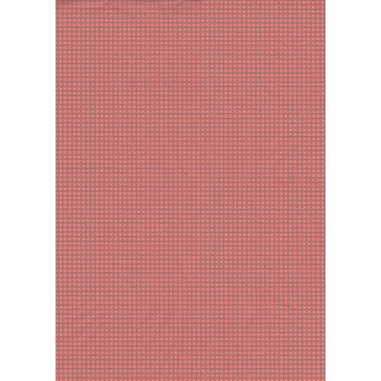 Decopatch Paper 647 - Half Sheet - Pink & Blue Small Daisy