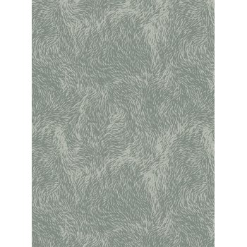 Decopatch Paper 666 - Half Sheet - Fuzzy Furs Blue, Grey Swirls