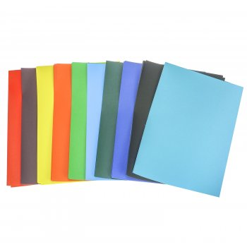Oversize A4 Assorted Colour Poster Paper - Pack of 100 Sheets