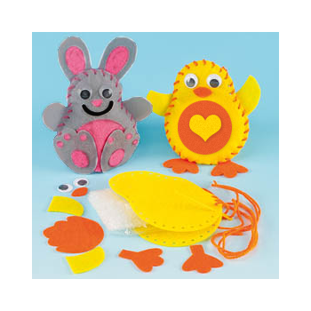 Felt Bunny and Chick Sewing Kit