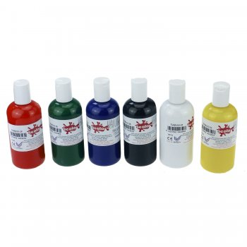 Fabric Paint Set - 6 Pack