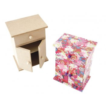 MDF Wardrobe Style Jewellery Box