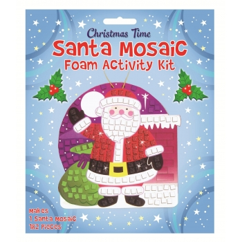 Santa Mosaic Foam Activity Kit
